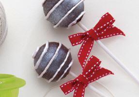 Recept za čokoladne cake popse-Xmas Sweet pops