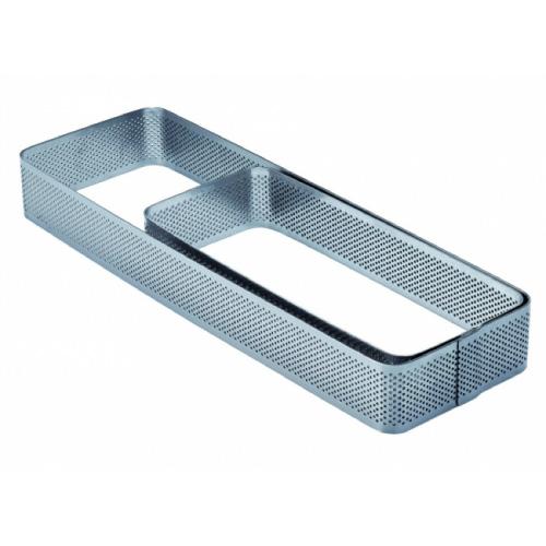 Mikroperforirani inox kalup pravokutni 3,5 cm visina