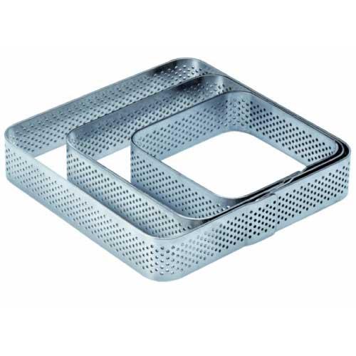 Mikroperforirani inox kvadratni kalup 2 cm