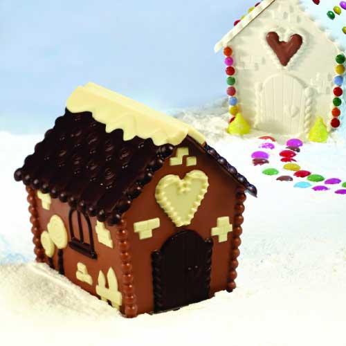 Kalup za čokoladu Božićna kućica