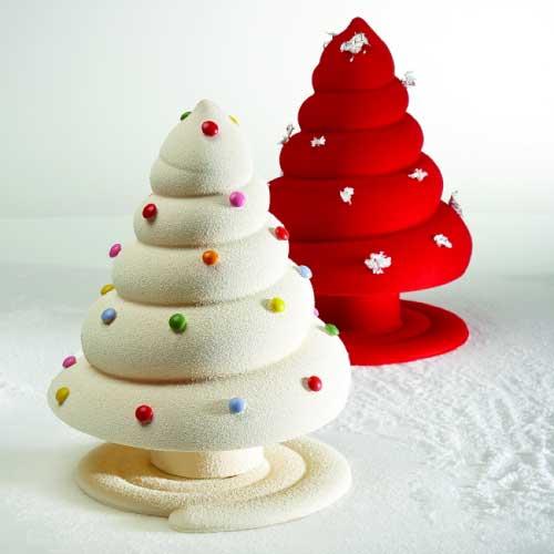 Kalup za čokoladu Božićno drvce Spiralno