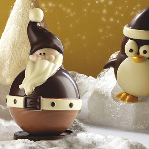 Kalup za čokoladu Djed Božićnjak
