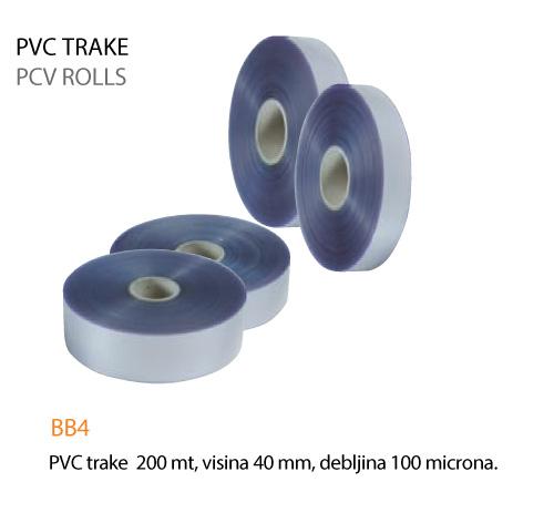 PVC trake za slastice 40 mm