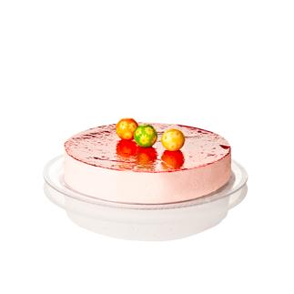 Tacna za kolače Okrugla prozirna 32 cm