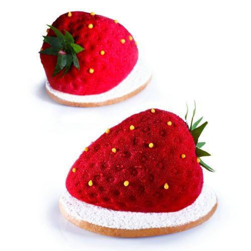 Silikonski kalupi Tutti frutti Jagoda