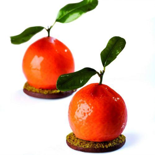 Silikonski kalupi Tutti frutti Mandarina