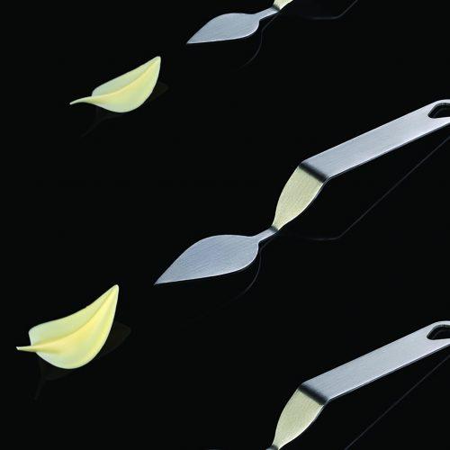 FLYCHOC LIST-inox špatula za izradu čokoladnih listova