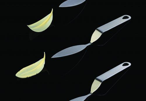 FLYCHOC PERJE-inox špatula za izradu čokoladnih dekoracija