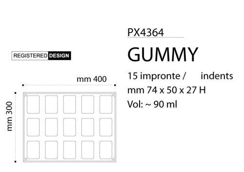 Silikonski kalup GUMMY by Antonio Bachour