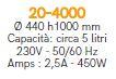 Čokoladna fontana 20-4000