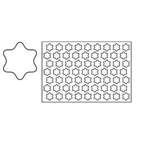 PLASTIČNI IZREZIVAČ ZA KEKSE 60×40 CM ZVIJEZDA