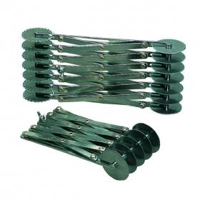 Rastezljivi inox rezač za tijesto-Ravni kotači