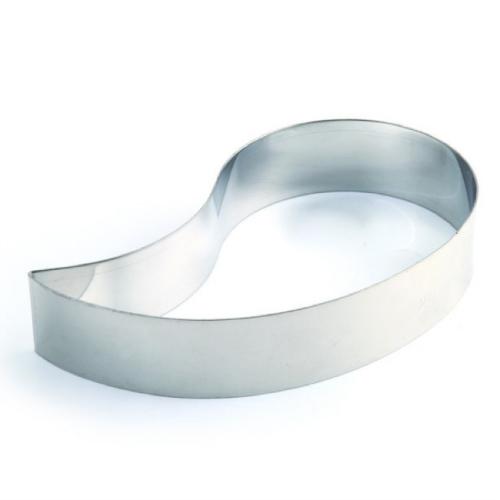 Inox prsten za torte i kolače Zarez h 4cm