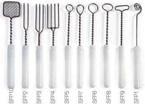 Set alata za čokoladu od inoxa 10 kom