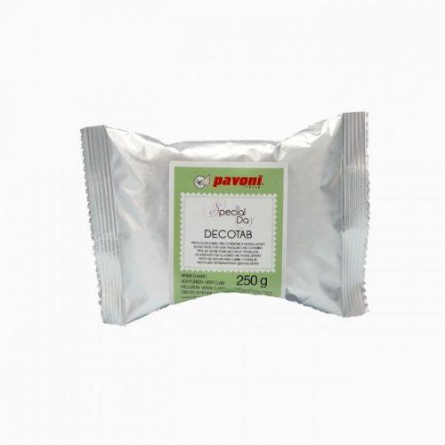 Decotab šećerna pasta za modeliranje i prekrivanje Svijetlo Zelena
