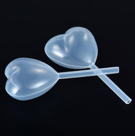 Pipete za kolače Srce 10 komada
