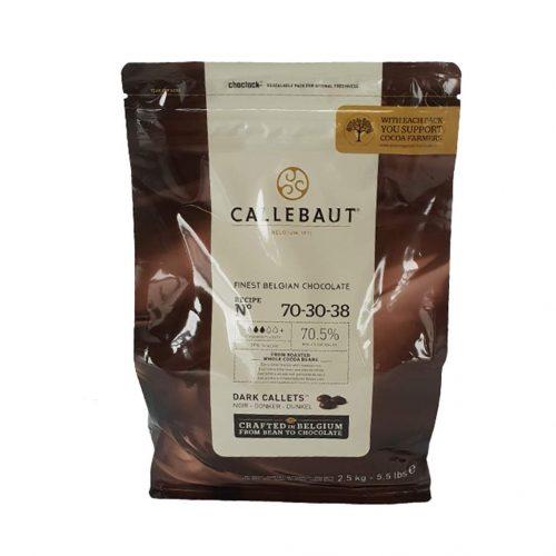 Tamna čokolada Callebaut 70% 70-30-38