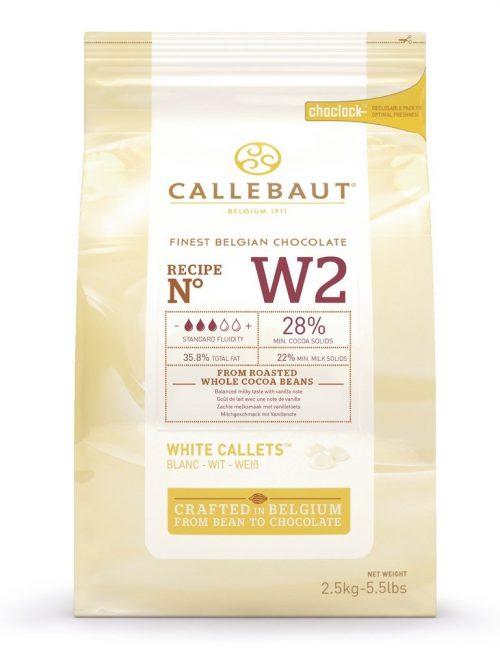 Bijela čokolada W2 Callebaut 28%