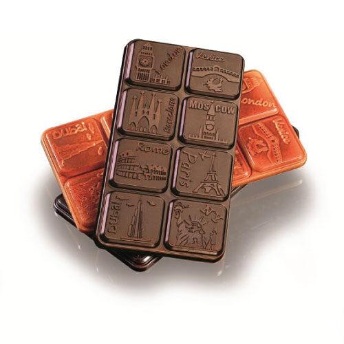 Polikarbonatni kalup za čokoladne table MA2011