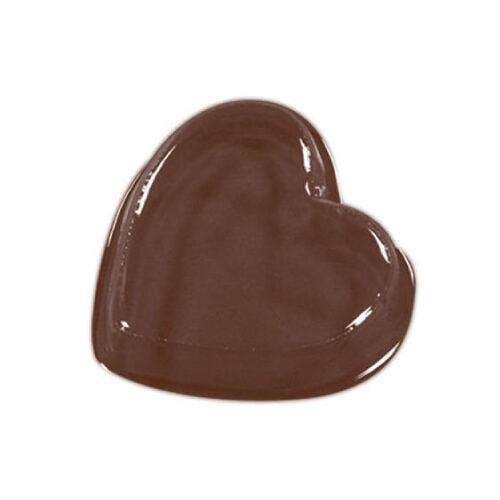 Kalup za čokoladne dekoracije/praline Srce dim.Ø27 h7 mm