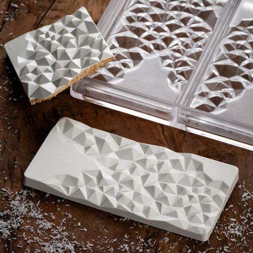 Polikarbonatni kalup za čokoladne table Fragment