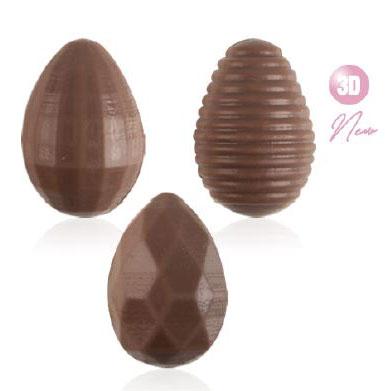 Čokoladna jaja 3D mliječna čokolada
