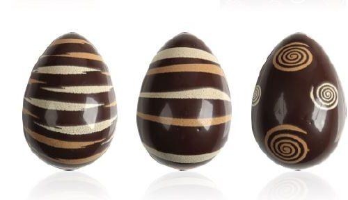 Gotove dekoracije belgiskom čokoladom. uskrsni zeko. čokoladne jestive dekoracije s uskrsnim motivima.čokoladno jaje. Alati i oprema za slastičarstvo i HORECA