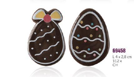 čokoladne jestive dekoracije s uskrsnim motivima.čokoladno jaje