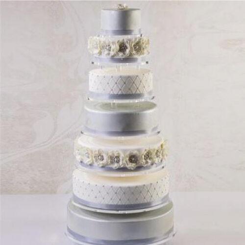 Stalak za torte od pleksiglasa Infinity 7