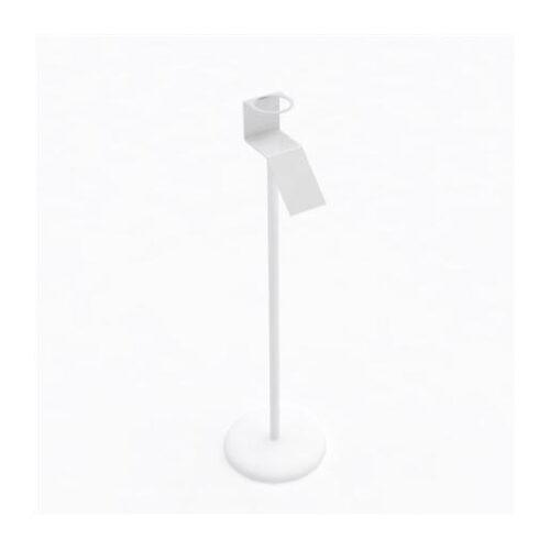 Držač za dezinfekcijsko sredstvo od pleksiglasa bijeli Mod 3