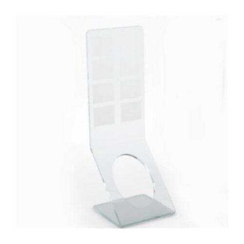 Držač za dezinfekcijsko sredstvo od pleksiglasa prozirni Mod. 2