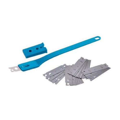 Kit žilet plastični nož + 25 žileta