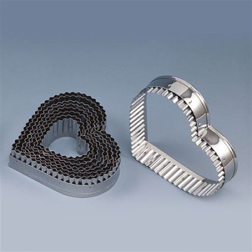 Metalni izrezivač-Srce nazubljeno