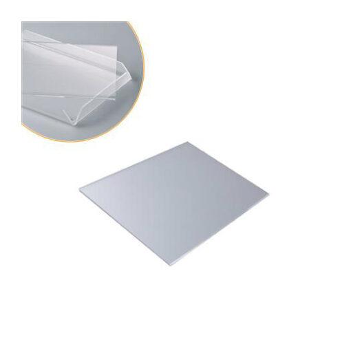 Proziran podložak za izlaganje kolača i torte za vetrine- dim. 165x165 mm h 2 mm