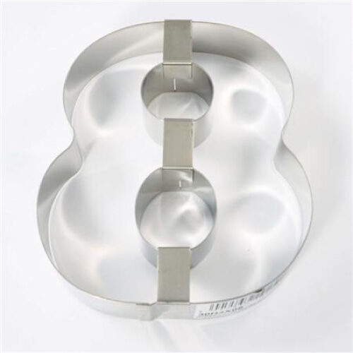 Inox kalup za torte broj 8 - 300 mm h 4 cm