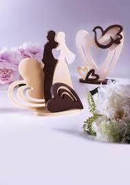 Kalup za izradu svadbenih topera od čokolade ili isomalta srce 1