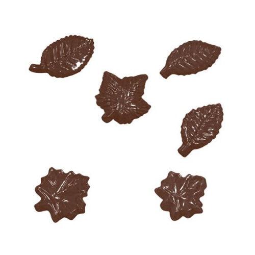 Kalup za čokoladne dekoracije/praline Listovi