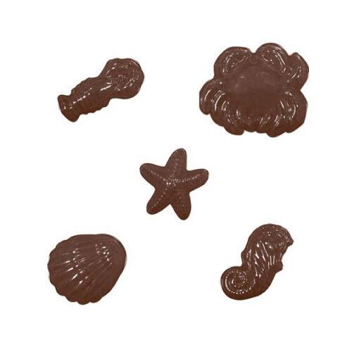 Kalup za čokoladne dekoracije/praline Morska stvorenja