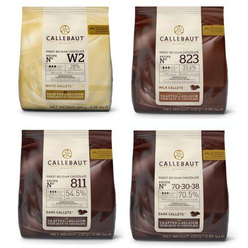 Callebaut 4 vrste fine belgijske čokolade
