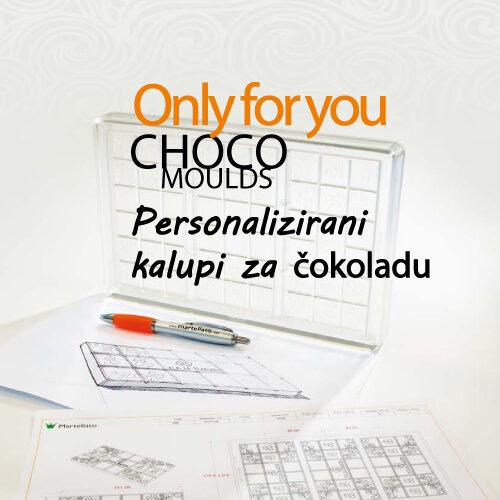 Personalizirani polikarbonatni kalupi za čokoladu