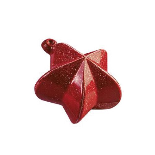 Kalup za čokoladne Božićne Zvjezde - Kit od 2 kalupa
