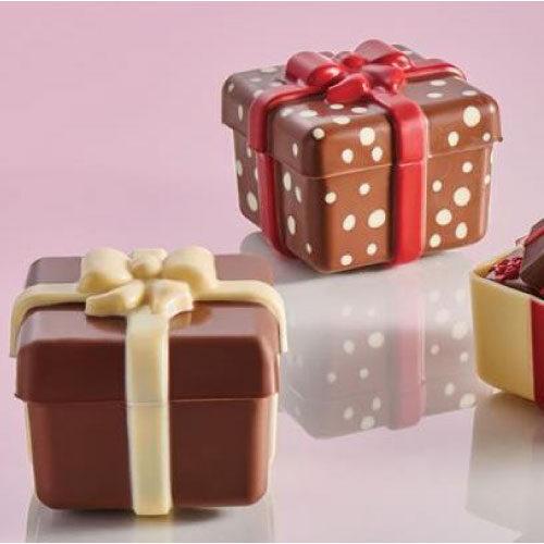 Kalup za čokoladni Božićni Poklon
