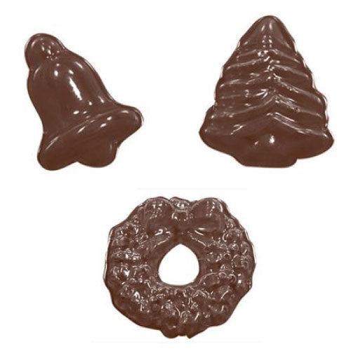 Kalup za čokoladu - Božićne praline