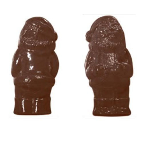 Kalup za izradu čokoladnog Djeda Mraza
