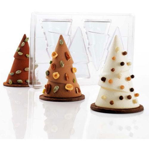 Polikarbonatni Kalup za čokoladu božićno drvce - Treesmas