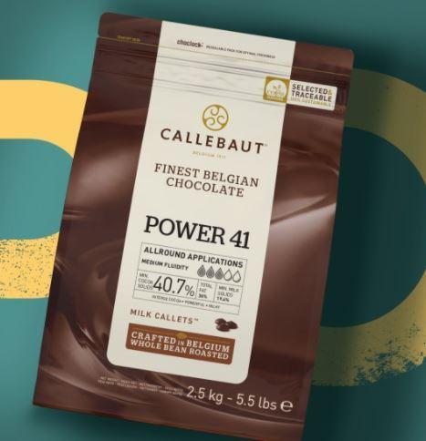 Mliječna čokolada Callebaut Power 41