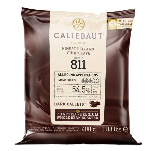 Tamna čokolada 811 Callebaut 400 gr