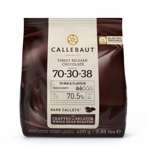 Tamna čokolada Strong 70-30-38 Callebaut 400 gr