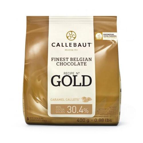 CALLEBAUT ČOKOLADA GOLD 400 gr