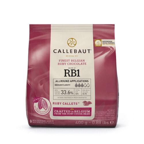 Ruby čokolada Callebaut 400 gr